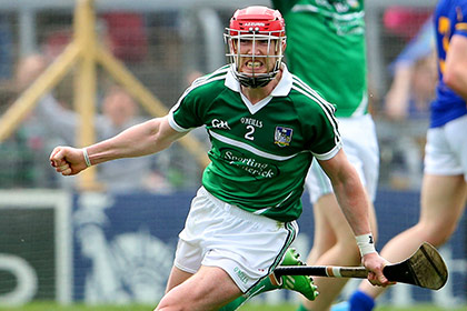 Limerick's Seamus Hickey celebrates. INPHO