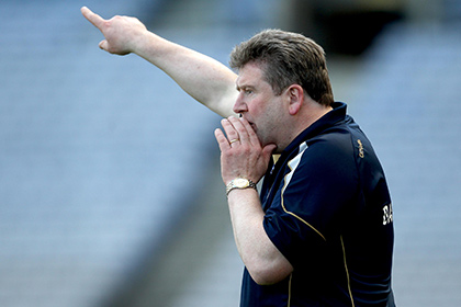 Eamonn Kelly in charge of the Kerry hurlers. INPHO