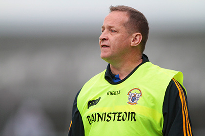 Clare manager Colm Collins. INPHO