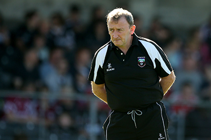 Sligo manager Pat Flanagan.