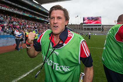 Cork camogie manager Paudie Murphy. INPHO