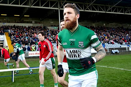 Portlaoise's Zach Touhy before the Leinster Club SFC quarter final against St Vincents. INPHO