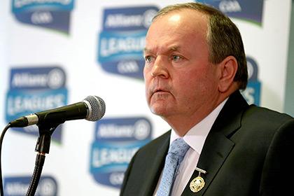 GAA President Liam O'Neill. INPHO