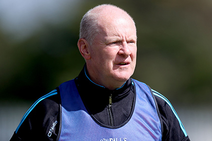 Dublin minor hurling manager Pat Fanning. INPHO