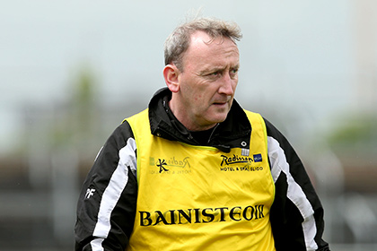 Sligo manager Pat Flanagan. INPHO