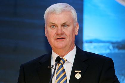 GAA President Aogan O'Fearghail. INPHO