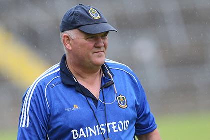 Roscommon manager John Evans. INPHO