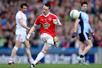 Tyrone keeper Niall Morgan. INPHO