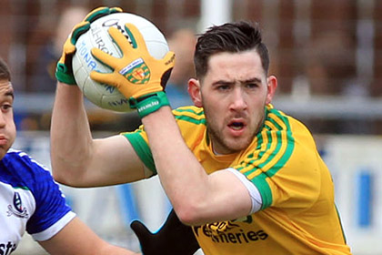 Donegal's Mark McHugh. INPHO