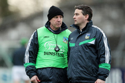 Donal O'Grady with TJ Ryan