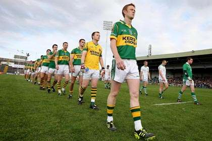 Kerry captain Colm Cooper