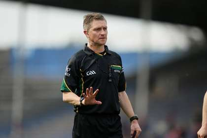 Westmeath referee Barry Kelly