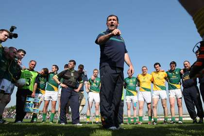 Seamus McEnaney during his spell as Meath manager