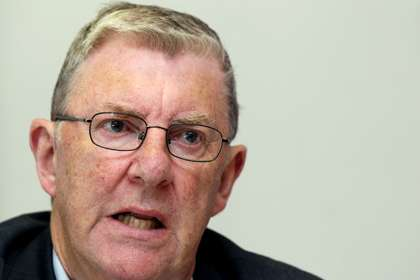Football Review Committee Chairman Eugene McGee