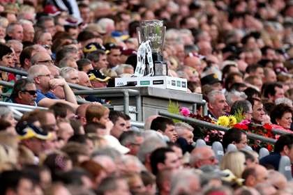 The coveted Liam McCarthy Cup