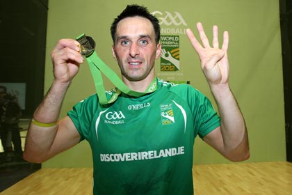 Four in a row for Cavan's Paul Brady