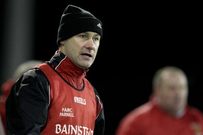 Paul Curran in charge of Ballymun Kickhams.
