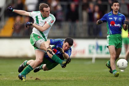 Alan Smith of Kildare and Sarsfields in Leinster Club SFC action against St Patrick's. INPHO