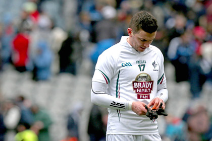 A dejected Eamonn Callaghan after the Dublin game. INPHO