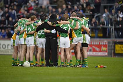 The Glenswilly team huddle. <br />&#169;INPHO/Presseye/Russell Pritchard.