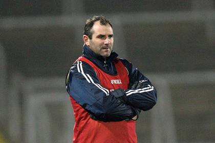 Steven McDonnell in charge of the Armagh U21&#39;s.<br />&#169;INPHO/Presseye/Andrew Paton.