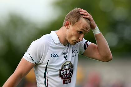 Kildare&#39;s Tommy Moolick.<br />&#169;INPHO/James Crombie.