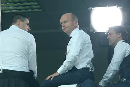 Sky&#39;s Sports pundits Darragh O Se and Peter Canavan.<br />&#169;INPHO/James Crombie.
