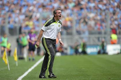 Donegal manager Jim McGuinness.<br />&#169;INPHO/Morgan Treacy.