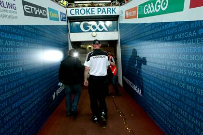 Kilkenny Manager Brian Cody makes his way down the tunnel after the replayed All-Ireland SHC final ©INPHO/Ryan Byrne
