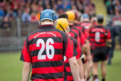 A general view of the Ballygunner jersey.<br />&#169;INPHO/Morgan Treacy.