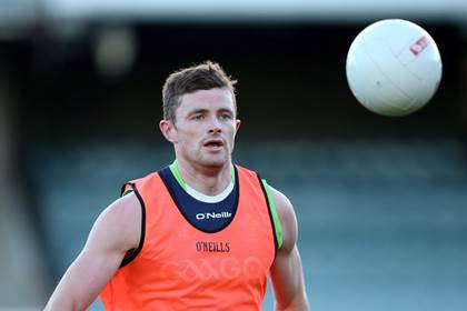 Pearce Hanley training with the Irish International Rules squad at Patersons Stadium, Perth.<br />&#169;INPHO/Cathal Noonan.
