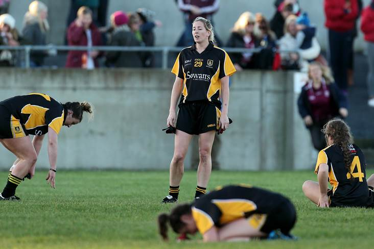 Mourneabbey&#39;s Sile O&#39;Callaghan after the 2014 All-Ireland final loss.<br />&#169;INPHO/Ryan Byrne.