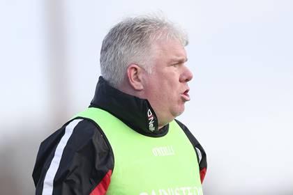 Tir Chonaill Gaels manager Barney Breen.<br />&#169;INPHO/Gerry McManus.