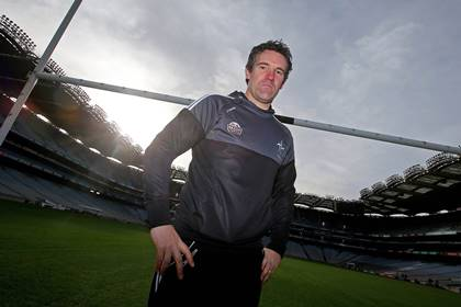 Kildare manager Jason Ryan at the Allianz Football Leagues launch in Croke Park.<br />&#169;INPHO/Donall Farmer.