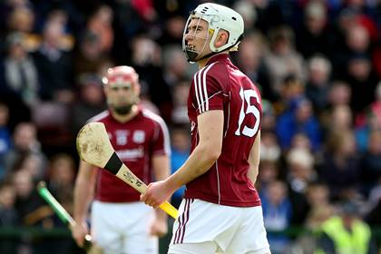 Galway&#39;s Jason Flynn.<br />&#169;INPHO/James Crombie.
