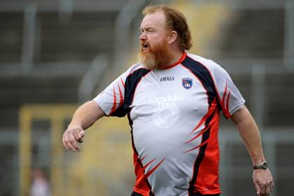 Armagh manager James Daly.<br />&#169;INPHO/Morgan Treacy.