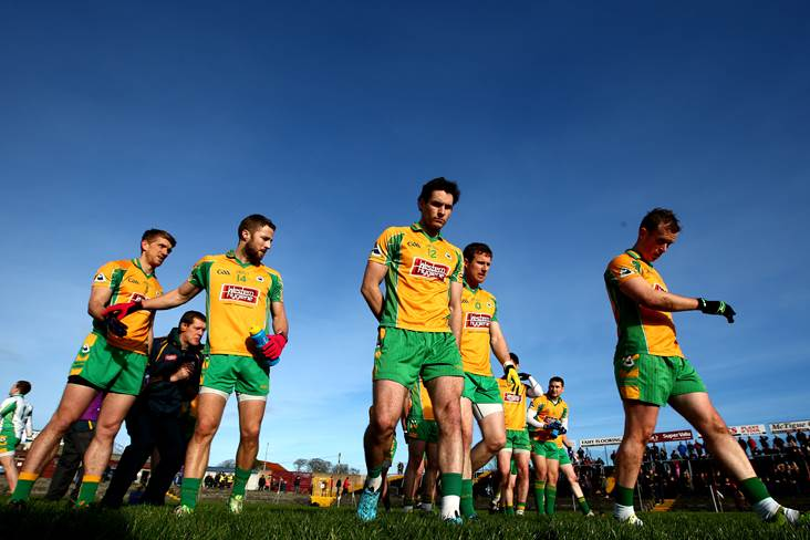 Corofin boss concentrating on the here and now