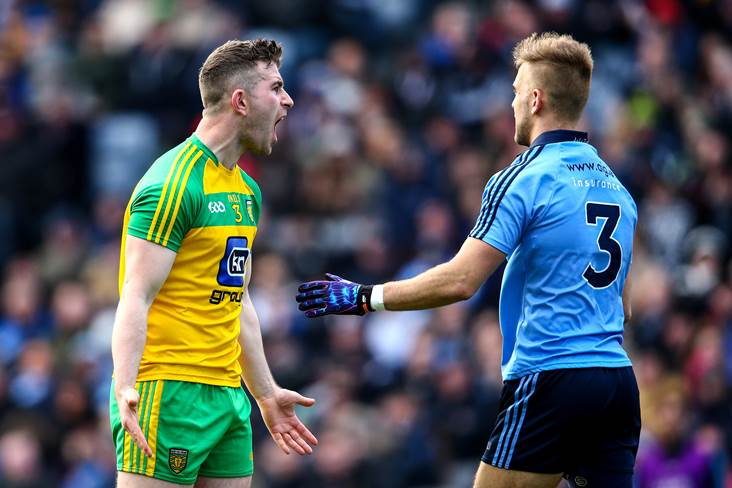 'No one up here is expecting Donegal to beat Dublin'