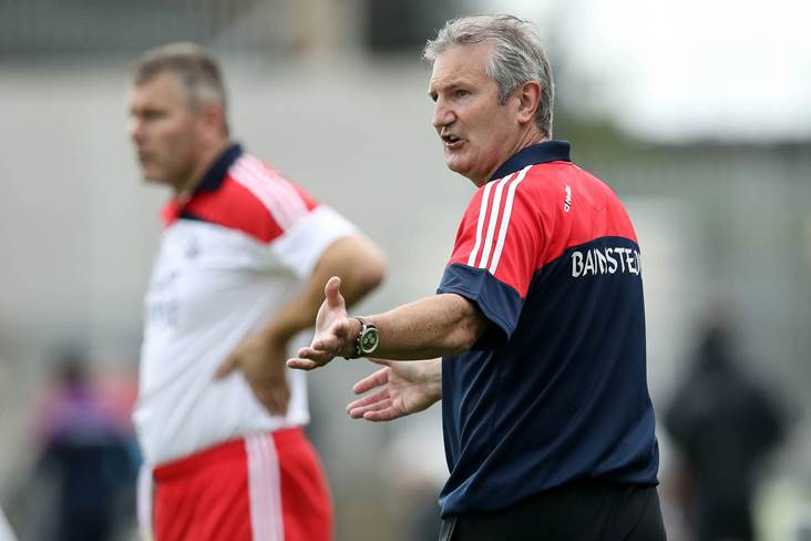 Cork boss Kingston sticking with current squad