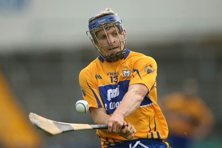 Clare's Collins not getting carried away