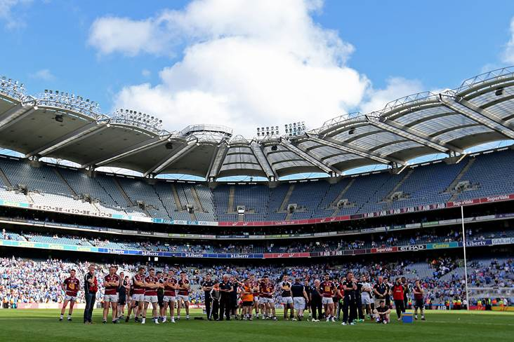 GAA admits that attendances are down
