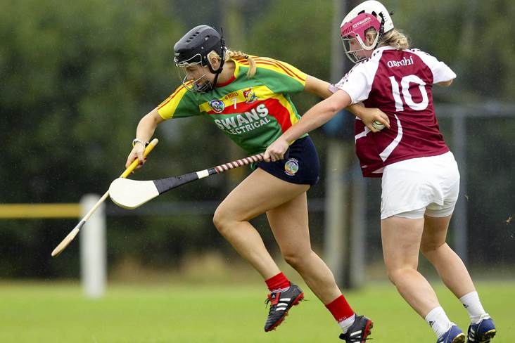 Camogie: Extra-time Nolan double sends Carlow on their way