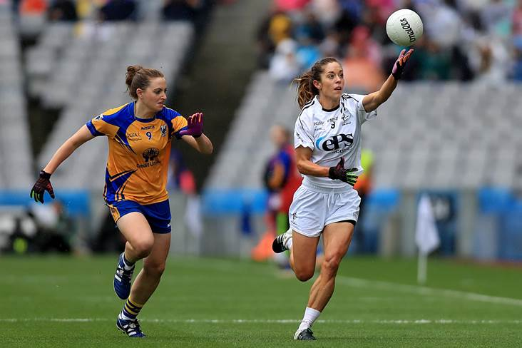 All-Ireland Ladies IFC final: Kildare prevail over Clare in dramatic finish
