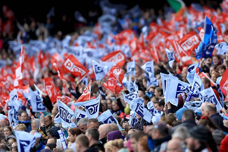 Record attendance in Croker! #changetherecord