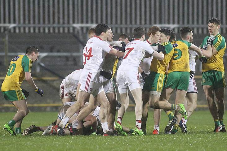 Harte plays down Donegal rivalry