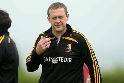 Kilkenny senior camogie manager Fintan Deegan