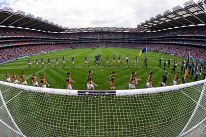 Kilkenny and Tipperary parade before the All Ireland Final.<br />&#169;INPHO