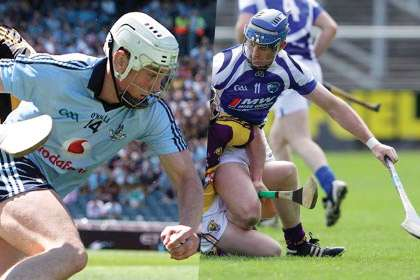 Dublin's Liam Rushe and Willie Hyland of Laois
