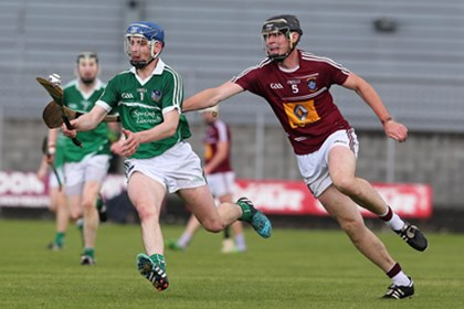 Westmeath&#39;s Aaron Craig and Sean Tobin of Limerick<br />&#169;INPHO