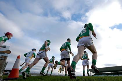 Offaly, Kildare and Meath were victorious in today&#39;s Leinster MHC first round ties.<br />&#169;INPHO/Ryan Byrne.